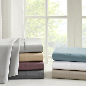 Image Is Loading Madison Park 600 Thread Count Pima Cotton Sheet