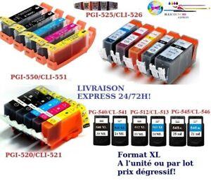 Cartouches-encre-compat-Canon-PGI-CLI-PG-CL-PG512-CL513-PG540-CL541-PG545-CL546