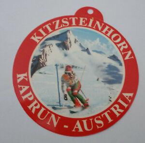 Souvenir-Aufkleber Kitzsteinhorn Kaprun High Tauern Salzburg Austria 70er