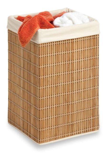 New Wicker Laundry Hamper Basket Clothes Towels Storage Bin Bedroom Closet