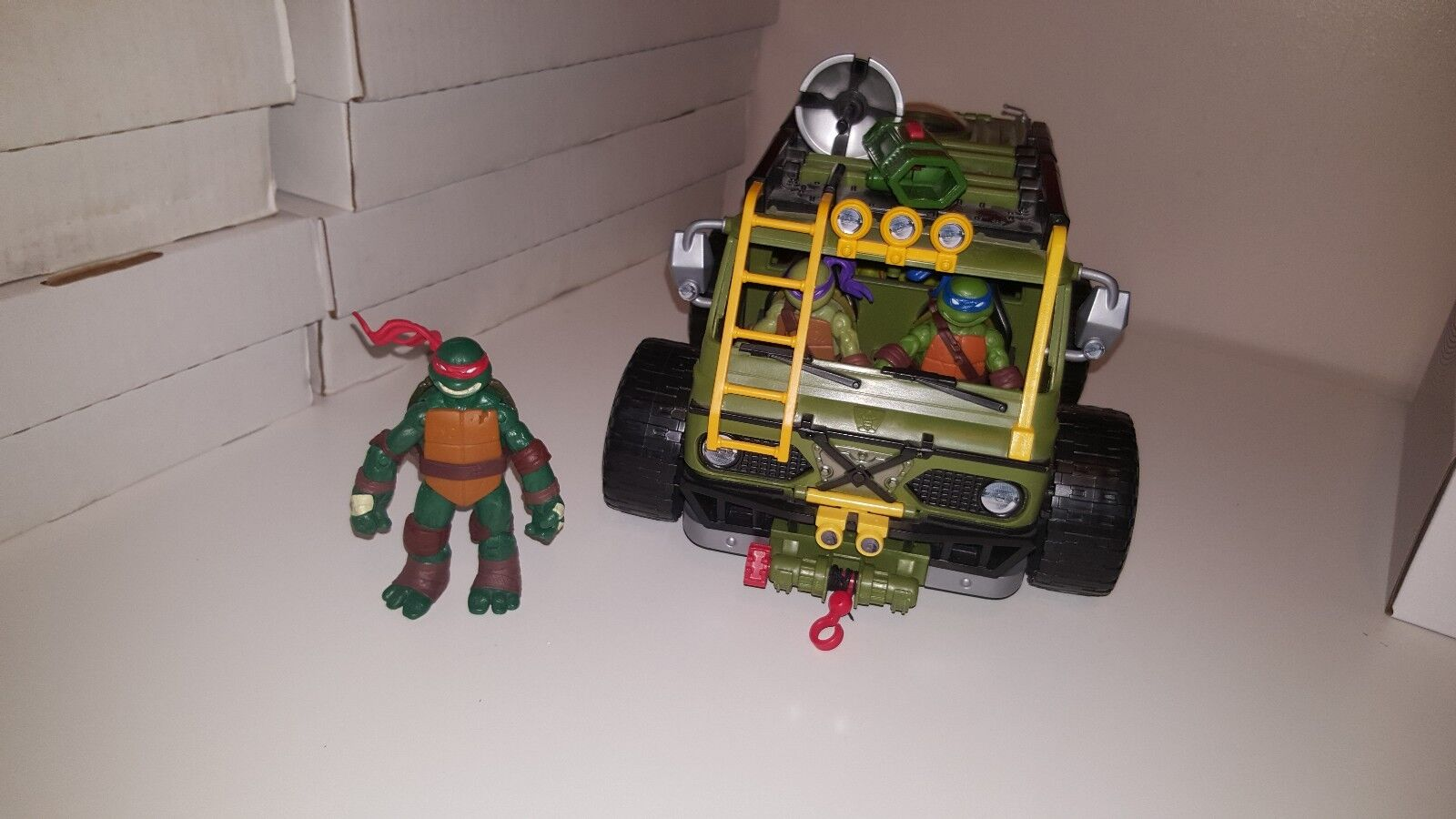 TMNT Shellraiser And Figure Collection (Playmates, 2014)