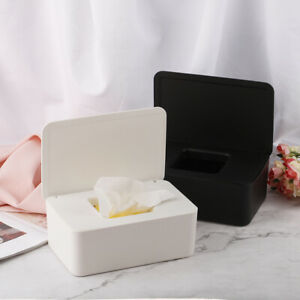 Wet-Tissue-Box-Desktop-Seal-Baby-Wipes-Paper-Storage-Box-Dust-proof-With-bv