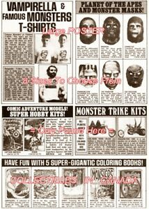 PLANET-OF-THE-APES-1970-039-s-Masks-HOBBY-KIT-POSTER-Not-Comic-Book-8-SIZES-18-034-36-034