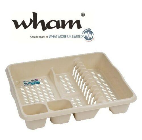 Wham® 11975 Geschirrabtropfer groß CREME Abtropfgitter Abtropfständer Abtropfkor