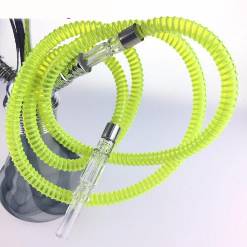 1.5m  plastic acrylic  Hookah Shisha Hose pipe Shish Hookah Hose sheesha pipe