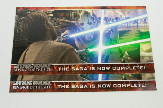 STAR WARS REVENGE OF THE SITH 2005 TOPPS PROMO CARD P1