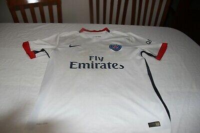T-Shirt Paris Saint Germain Brand Nike Size L Fly Emirates No 2 Thiago Silva   eBay