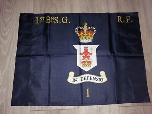 Scots guards 1st battalion Right Flank colours flag