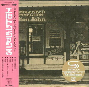 ELTON-JOHN-TUMBLEWEED-CONNECTION-JAPAN-MINI-LP-SHM-CD-Ltd-Ed-G00