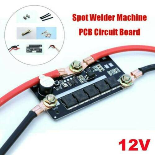 12V Batterie Energiespeicher Punktschweißgerät PCB DIY Leiterplatte Lötstift DE