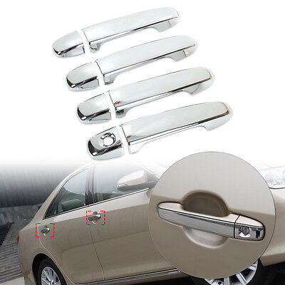 FOR 2012 2013 2014 2015 2016 TOYOTA CAMRY CHROME DOOR HANDLE COVER COVERS US NEW