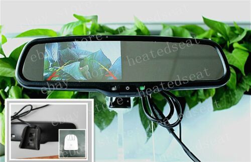 """Rear view mirror with 4.3/""""camera display,fits Ford,Toyota,Nissan,Dodge,Chevrolet"""