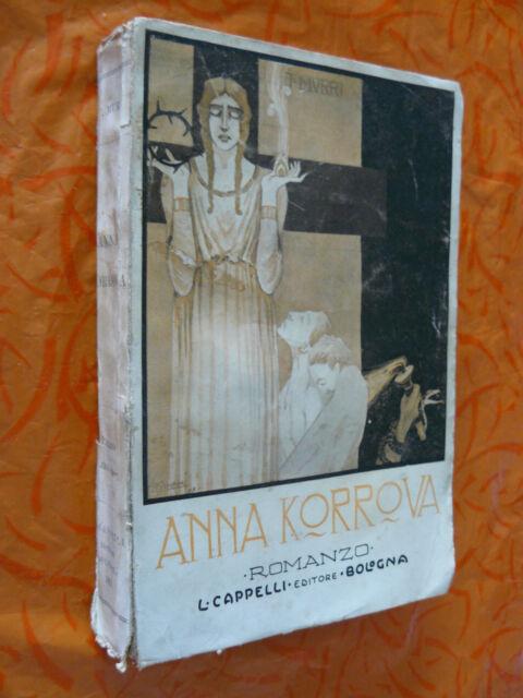 ANNA KORROVA.TULLIO MURRI.L.CAPPELLI.I EDIZ. 1921