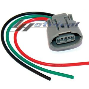 details about new alternator repair plug harness 3-wire pin for john deere  4200 4210 4300 4310