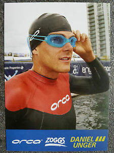 AK o.AG Daniel Unger GER Triathlon 1.WM 07 - Kurzdistanz Rarität!