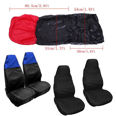 Ford Ecosport Heavy Duty Black Waterproof Seat Covers//Protectors 2 x Fronts