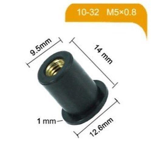 Kawasaki Teilenummer 92210-0498 Verkleidung Muttern Gummi Muttern x 20