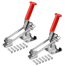 2 Packs Latch Action Toggle Clamp Stainless Steel 304 Max Load 440 Lb