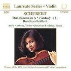 Franz Schubert - Schubert: Music for Violin and Piano (1997)