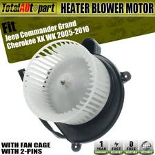 Heater Blower Motor w// Fan Cage Front for Jeep Grand Cherokee Commander