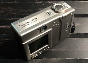 CANON-PowerShot-Digital-ELPH-S110-Silver-2-1MP-Digital-Camera-With-Charger
