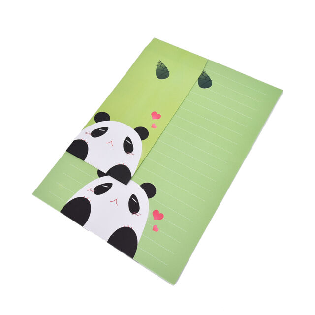 Animals Letter set Writing Stationary paper & Envelope for Postcard & Letter MDA