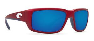 7e13a7fc47 COSTA Del Mar 580G TF98 OBMGLP Fantail Polarized Sunglasses Gray Blue Glass