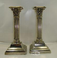 Antiquariato Candelieri in argento antico / old silver Sheffield