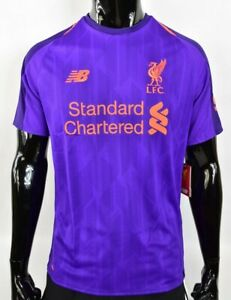 designer fashion 4b970 97d9e Details about The Reds New Balance Liverpool FC 2018-2019 Away Shirt SIZE S  (adults) SMALL
