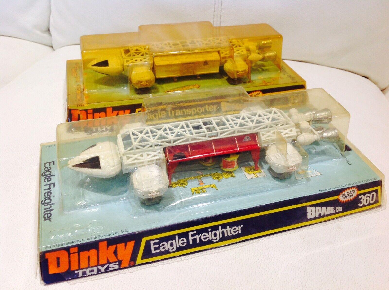 Dinky Eagle 359 360 in Original Bubble Box