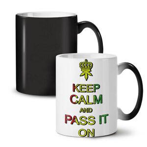 Keep Calm Weed Pot Rasta NEW Colour Changing Tea Coffee Mug 11 oz | Wellcoda