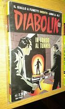 DIABOLIK ORIGINALE ANNO 51° - ANNO LI - N°  1 - 2012 - UN UOMO VIOLENTO