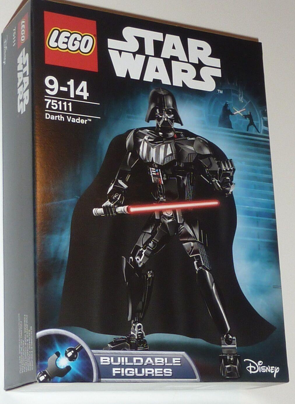 Lego 75111 STAR WARS Darth Vader (formerly Anakin Skywalker) buildable figure