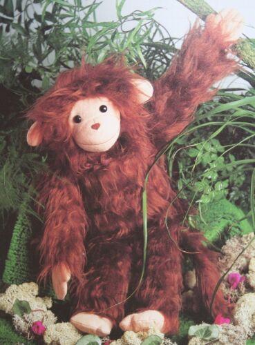 PN038 Monkey Toy Sewing Pattern