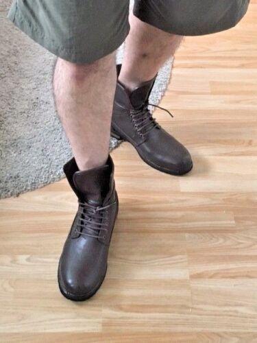 Hommes 2in1 Long Bottes Cheville Décontractées Smart Chukka Marcher Vélo Cuir Dentelle Ride Taille
