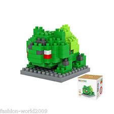 Educational Pokemon Building Blocks Toys Mini Nano Block For Kids Gift-Bulbasaur