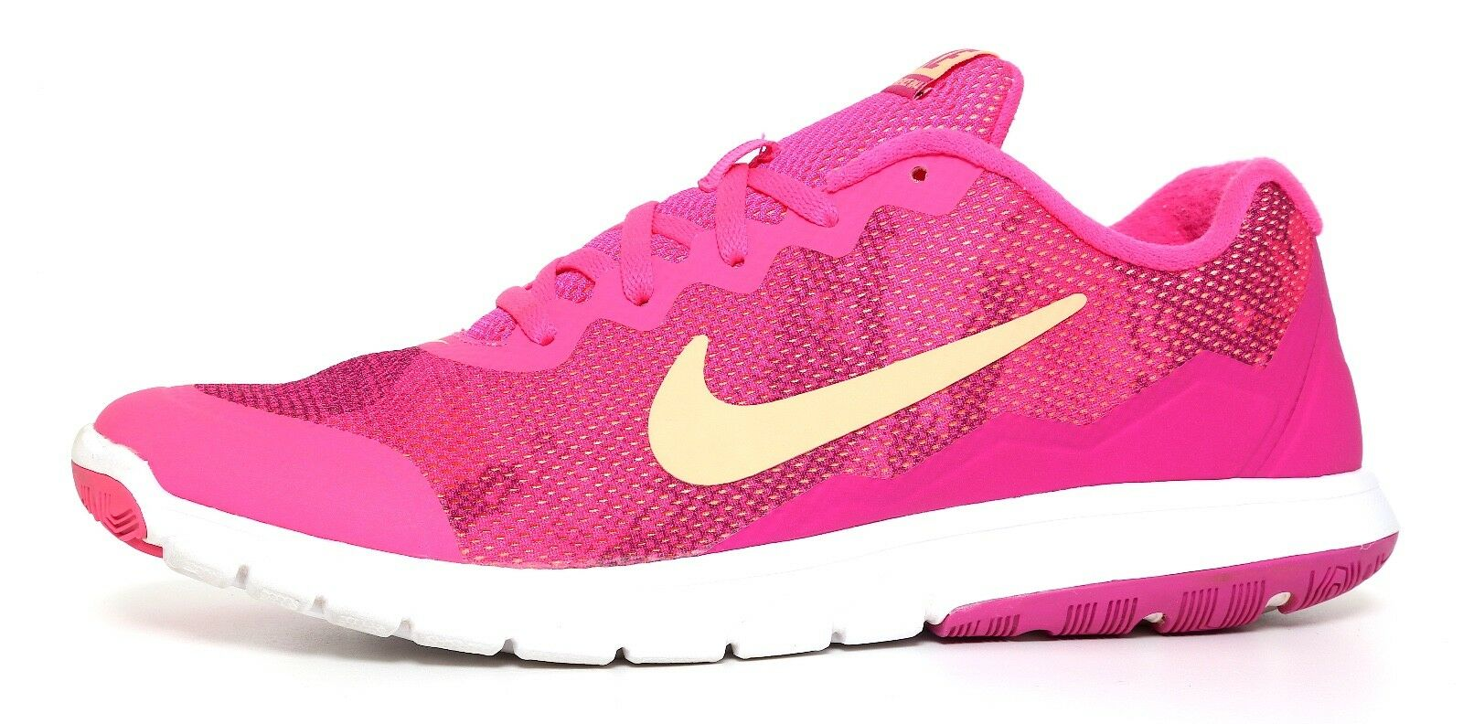 Nike Flex Experience Run 4 Sneakers Fuchsia Pink Women Sz 9.5 2412