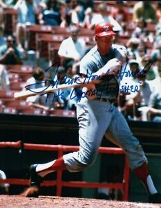Frank-Howard-Signed-8X10-Photo-Autograph-034-The-Captial-Punisher-034-Auto-w-COA
