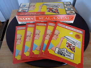 Vintage-Dazey-Seal-a-Meal-Great-for-Travel-Baby-Formulas-Melt-food