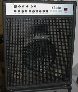 AMPLIFICATORE-PER-STAGE-100-W-200WMAX-TASTIERE-GUITARS-MICROPHONES-KS100