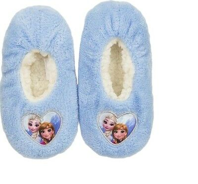 Disneys Frozen Die Eiskönigin Kinder Hauschuhe Pantoffeln Hüttenschuhe