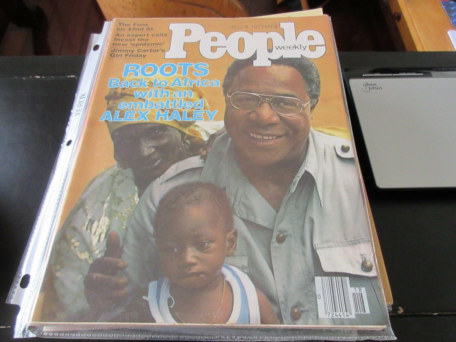 People Weekly , May 9 ,1977 , Roots , The Fonz , Incest