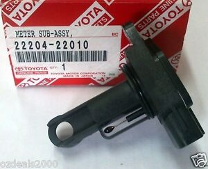 Genuine Toyota Mass Air Flow Sensor Fit Corolla Yaris Rav4 Lexus Solara Echo Mr2 Ebay