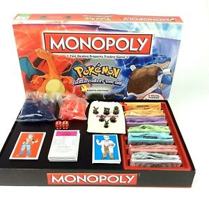 HASBRO-POKEMON-monopole-Kanto-Edition-Board-Game-Family-Games-Nuit