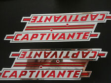 4 x autocollants cyclisme VELO EROICA ancien vintage STICKER BIKE CITY POSITRON