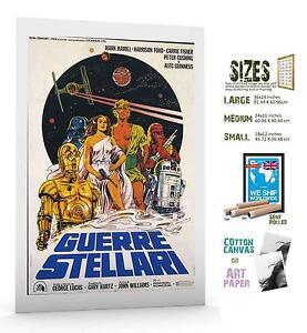 Star Wars Return of Jedi #121 cult sci fi movie poster print