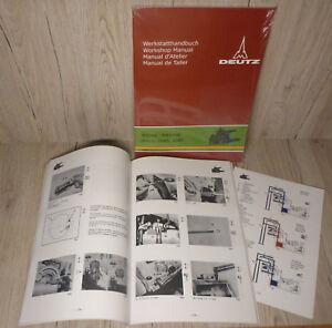 Werkstatthandbuch-Deutz-Hydraulik-Kraftheber-fuer-Traktor-D4006