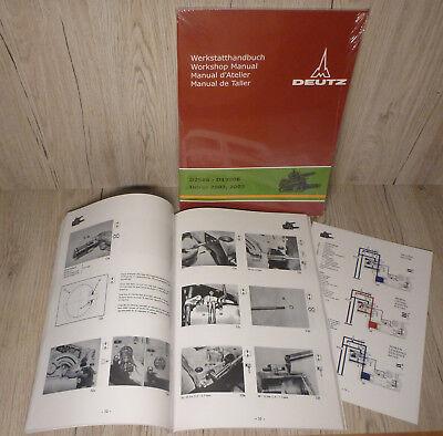 AnpassungsfäHig Werkstatthandbuch Deutz Hydraulik Kraftheber Für Traktor D5006 Feine Verarbeitung