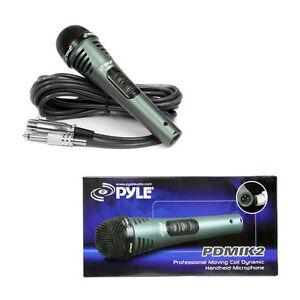 Adaptable Pylepro Pdmik 2 Professional Moving Coil Dynamic Handheld Microphone-afficher Le Titre D'origine