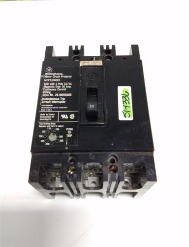 WESTINGHOUSE 30 AP 600 VAC CIRCUIT BREAKER MCP13300CR